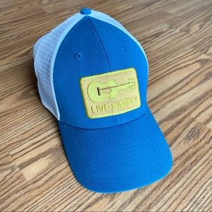 Patagonia trucker hat. Live Simply